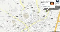 砺波市出町子供歌舞伎曳山会館地図