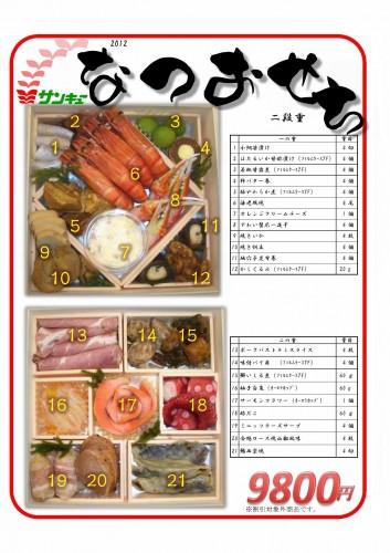 20120726三喜有おせち
